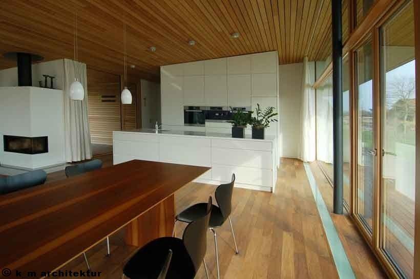 Architekten Hermann Kaufmann ZT GmbH - Einfamilienhaus - Riedmann - architekt wohnzimmer