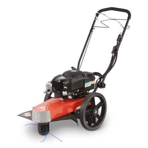 DR Trimmer/Mower 8 75 Pro-XL, Self-Propelled, Electric-Starting Step
