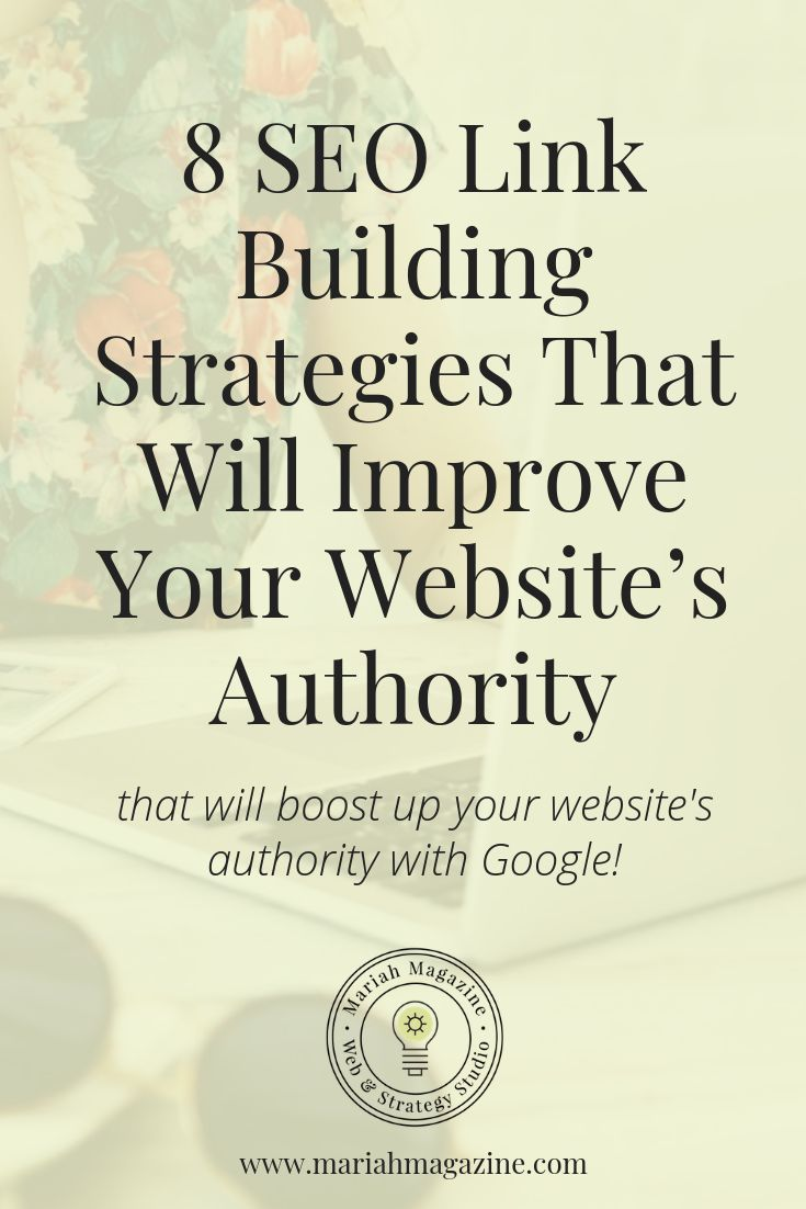 Want to improve your websites domain authority with Google? Steal these 8 SEO link building strategies! The number of brands investing in at least some forms of search engine optimization keeps growing, making the digital sphere more competitive than eve
