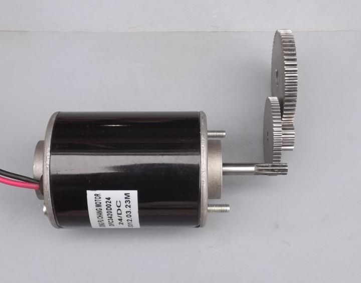 With gear 40W-50W hand-cranked generator DC small generator 12V-24V permanent magnet DC motor dual-use