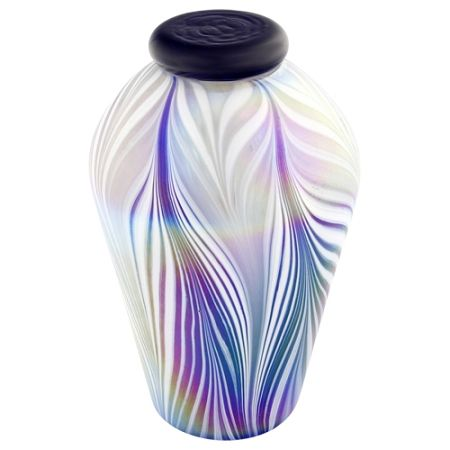 Sera Hand Blown Glass Urn For Ashes Glass Urns Hand Blown Glass Glass Blowing Hand Blown