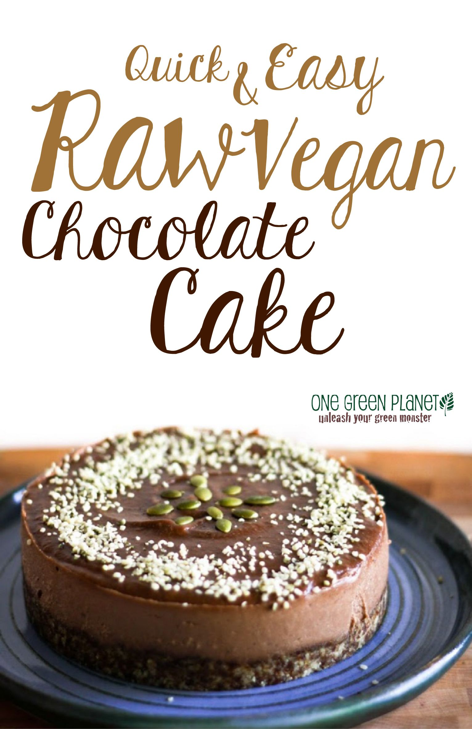 Quick and easy raw chocolate cake vegan vegan chocolate raw quick and easy raw chocolate cake vegan forumfinder Gallery