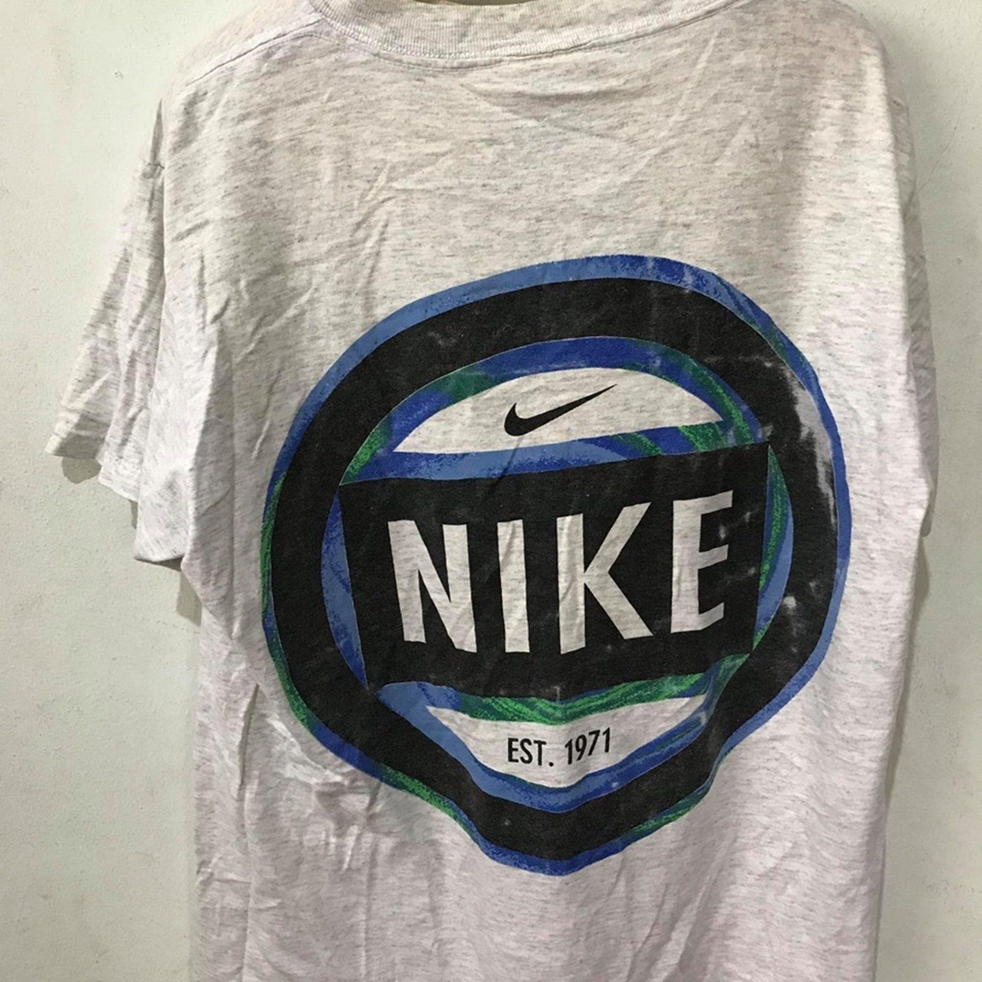Vintage Nike Shirt Size L Free Shipping 90s Nike Just Do It Swoosh Shirt Nike Vintage Vintageclothing 90s Tshirt Vintageshirt Vintagetshirt Etsy Etsyse