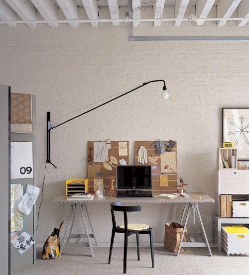 highly desirable office space Interior Design Pinterest Yellow