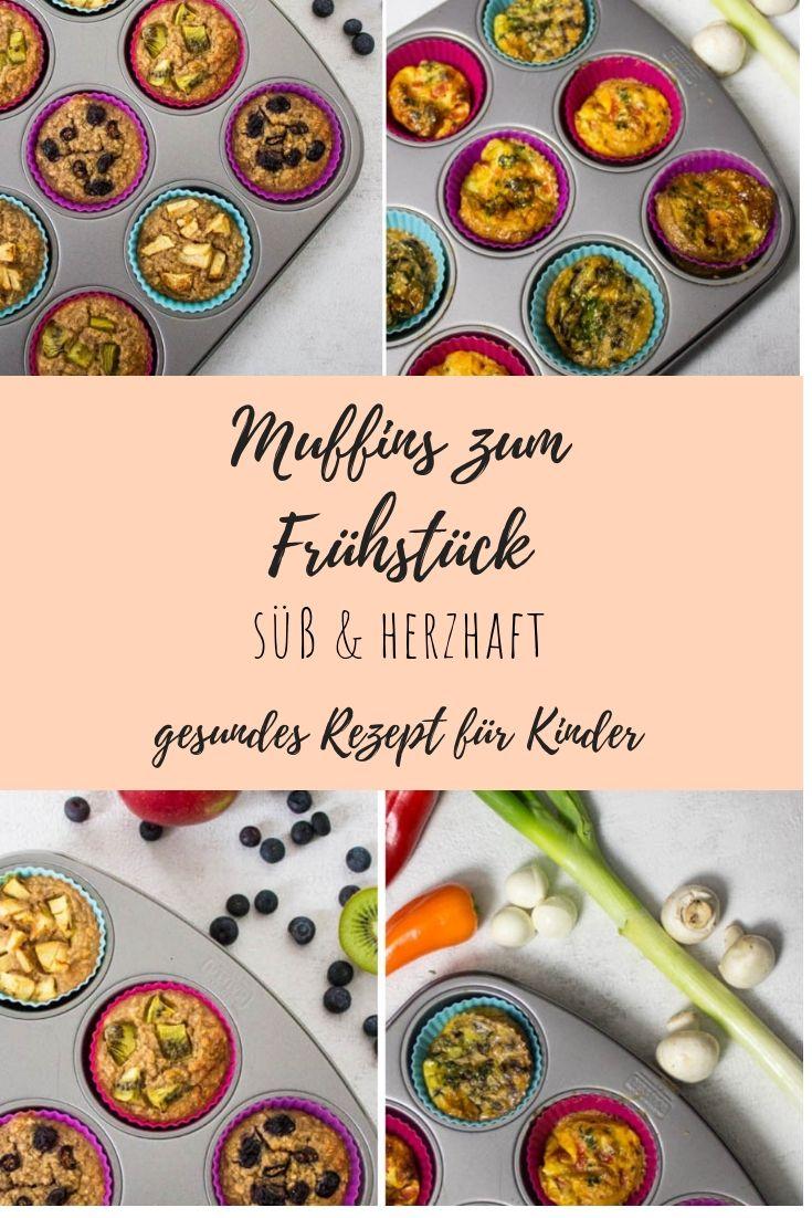 Muffins zum Frühstück: süß und herzhaft ⋆ Lieblingszwei * Mama- & Foodblog #healthystarbucksdrinks