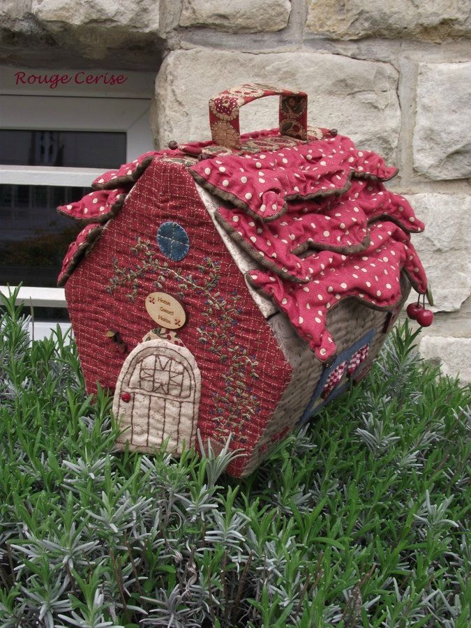 une cabane so country l 39 atelier de rouge cerise sewing accessories primitives and atelier. Black Bedroom Furniture Sets. Home Design Ideas