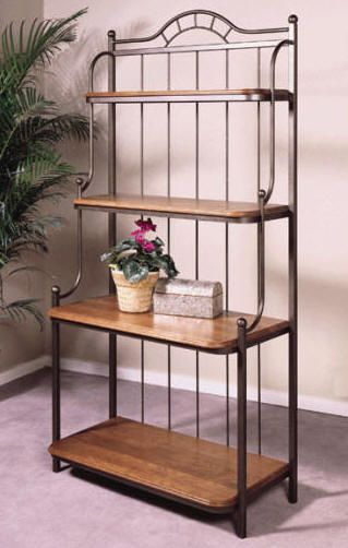 Auroa Metal Bakers Racks Jpg 319 502 Wrought Iron Furniture Iron Furniture Metal Furniture