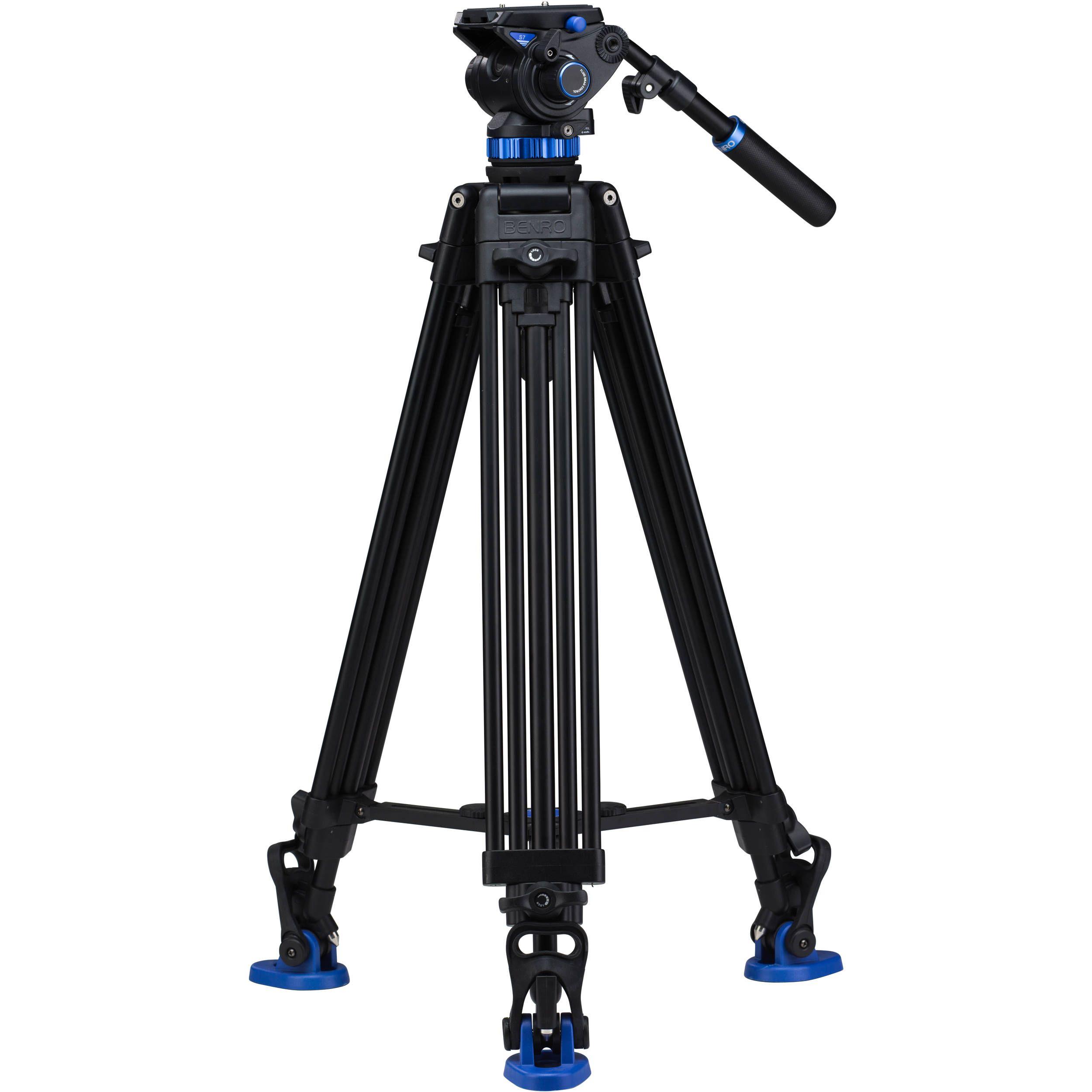 S7 Dual Stage Video Tripod Kit Camera Gear Camera Gear Tripod