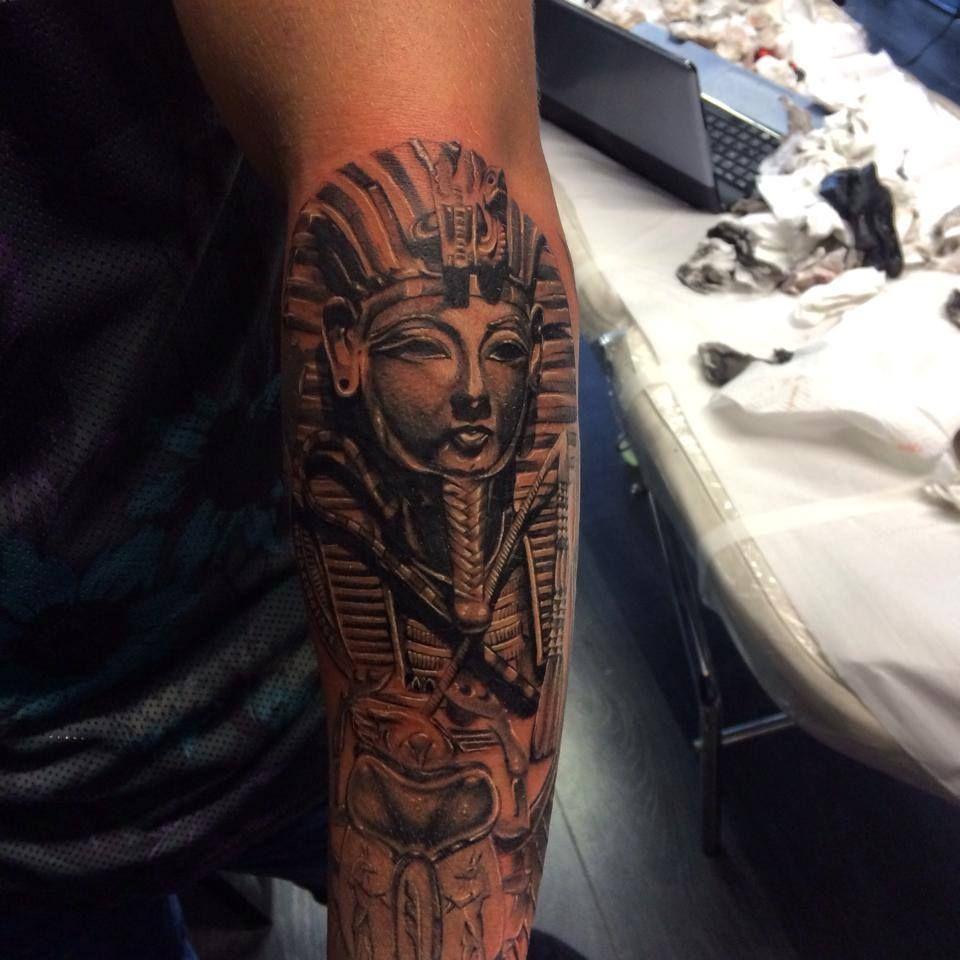 King Tut Tattoo Sleeve Pics Download