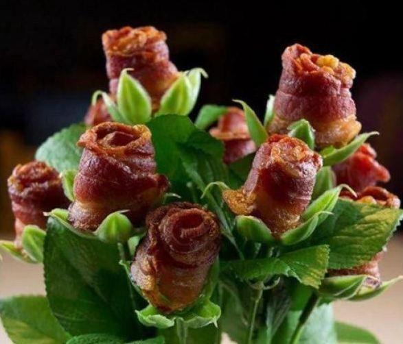 Bacon Flowers