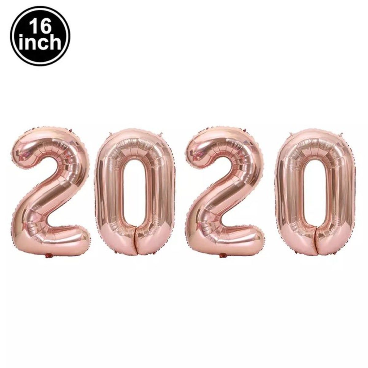 Photo of 2020 New Years Number Balloons Pink