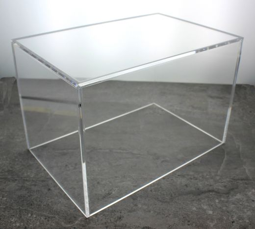 5 Sided Clear Acrylic Box Custom Size Acrylic Box Acrylic Display Case Acrylic Display Box