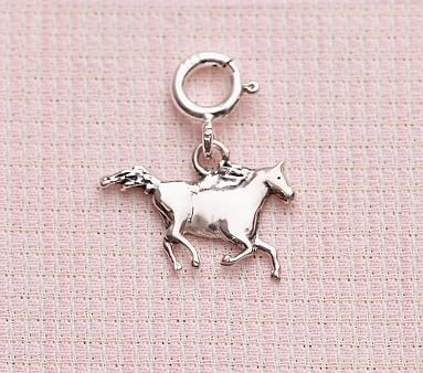 Girl Polished Charms:Horse