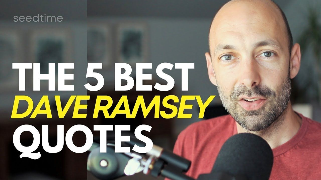 Dave ramsey quotes his top 5 oneliners dave ramsey