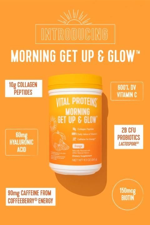 NEW Morning Get Up & Glow!