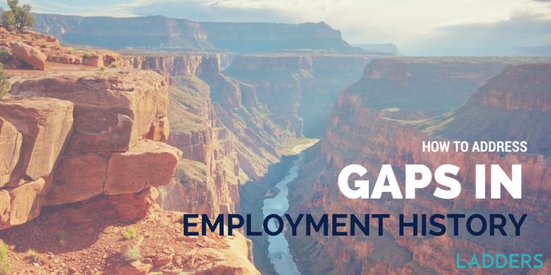 Gaps In Employment How To Address Gaps In Employment History  Pinterest  History