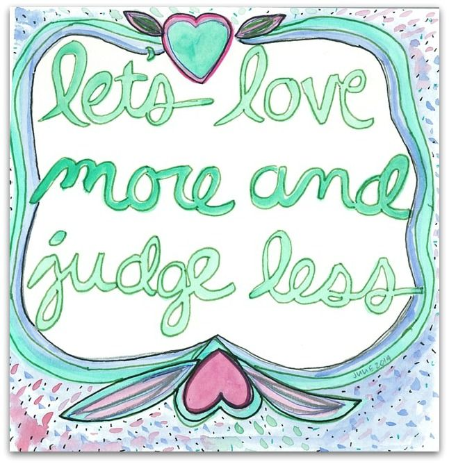 Blooma Love Note  LetS Love More And Judge Less