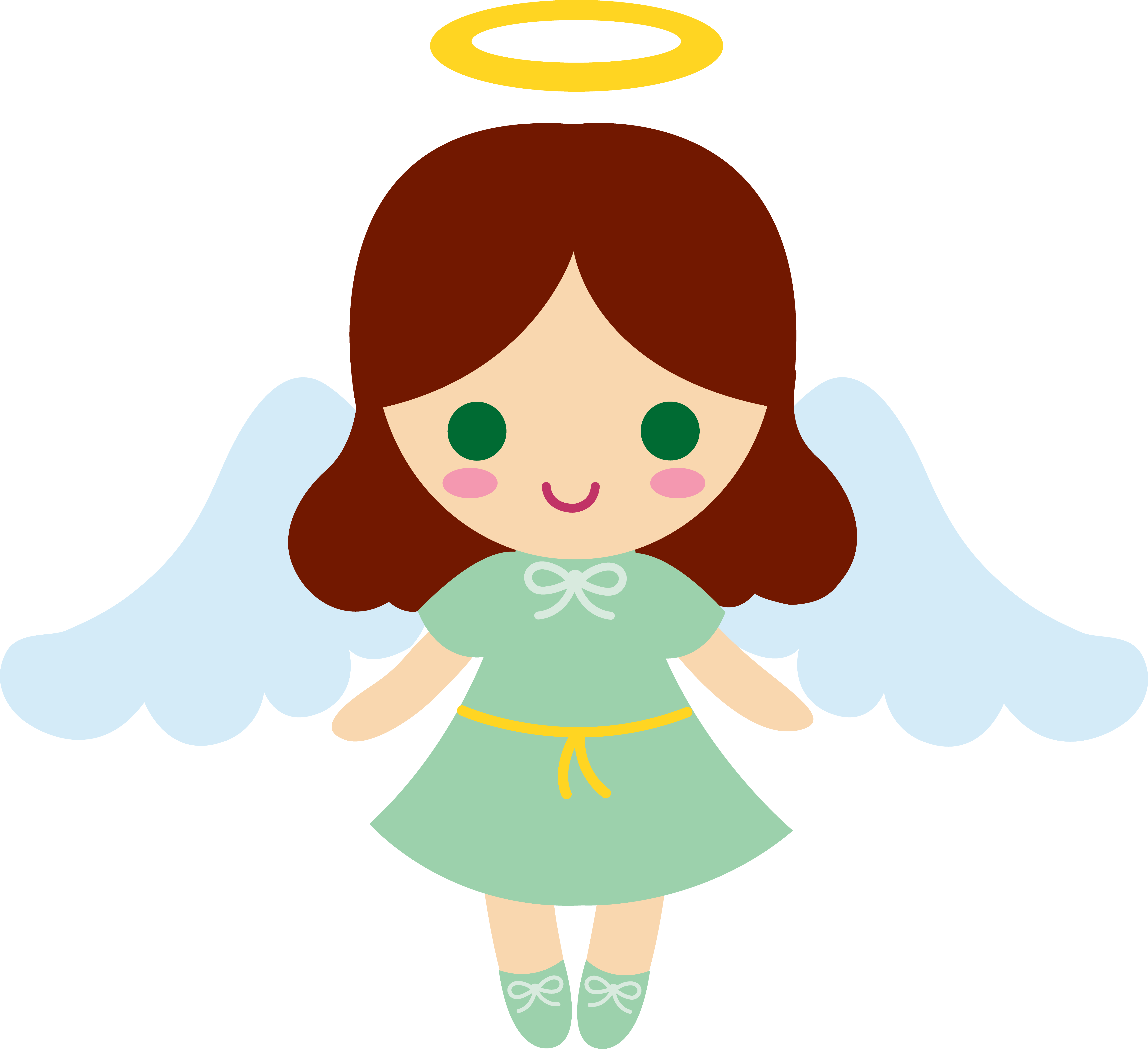 angelgirl cartoons little brunette angel girl baby items rh pinterest ca angel clipart images angel clip art free printable