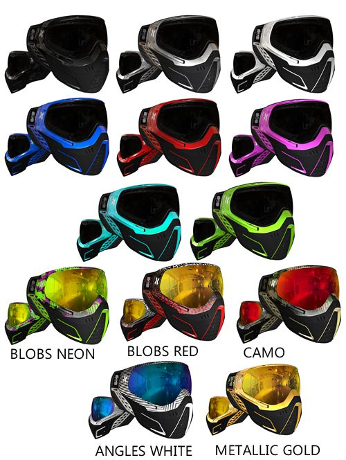 HK Army KLR Paintball Maske Element