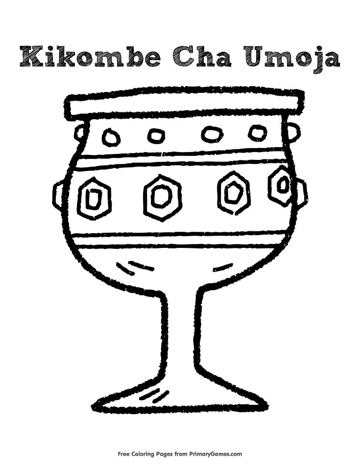 Kikombe Cha Umoja Coloring Page • FREE Printable eBook ...