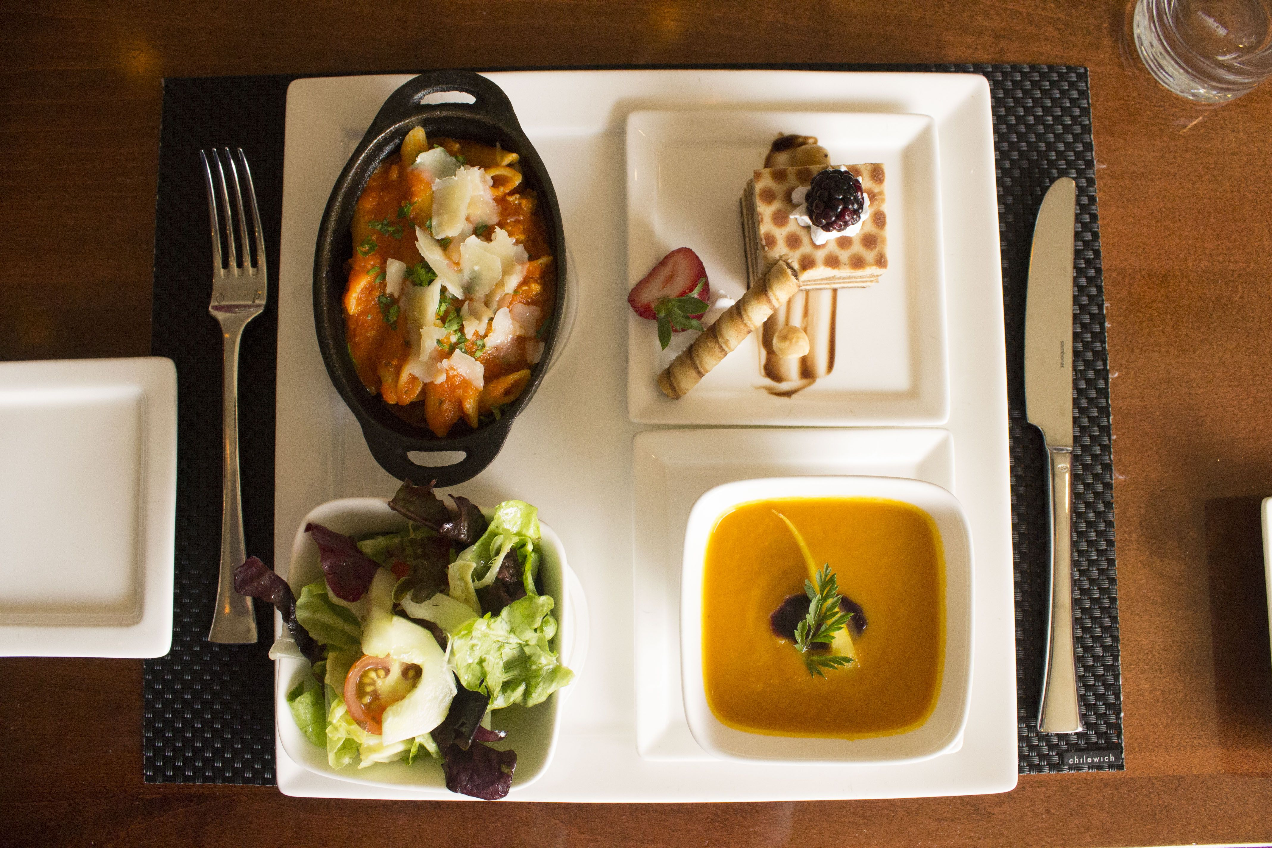 Have A Quick Lunch Sent Up To Your Room This Convenient Four Course Meal Is Perfect For The Busy Individual Who Is Always On The Go