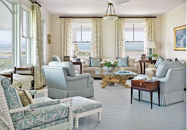 coastal townhome interiors - Google Search Living Rooms