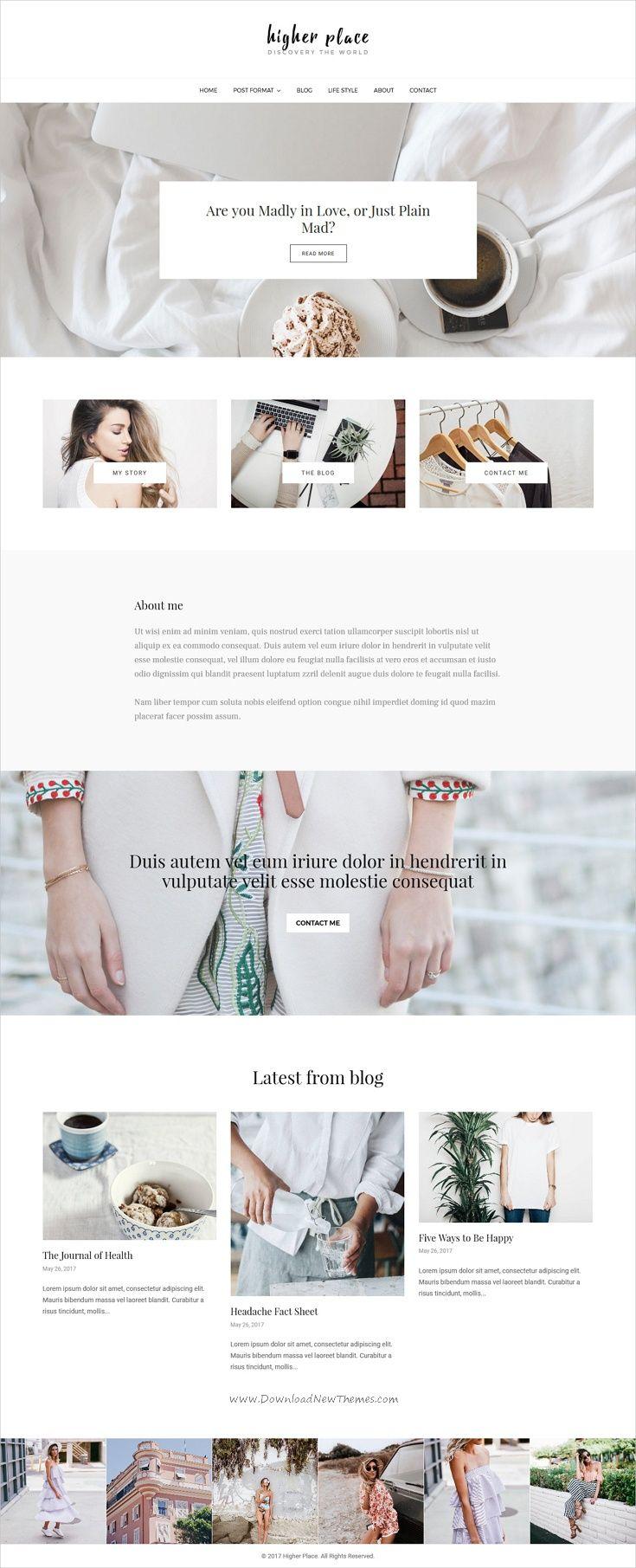 Higher Place - Blog & Magazine WordPress Theme