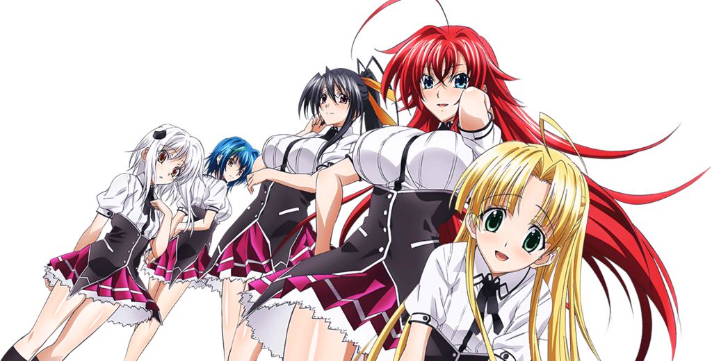 HighSchool DxD New Render 2 by katherineizaguirre High