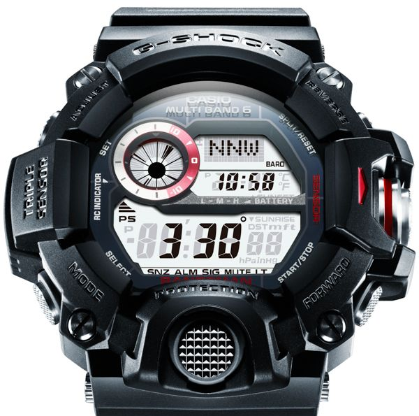 9820d5eb5b6 Casio G-Shock GW9400 Rangeman Watch - A model above my Mudman. Its ABC  (Altimeter