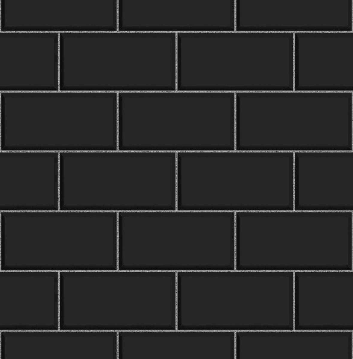Black Subway Tile Tile Design Ideas