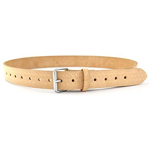"""Style n Craft 74052-2/"""" Wide Work Belt in Heavy Top Grain Oiled Leather"""