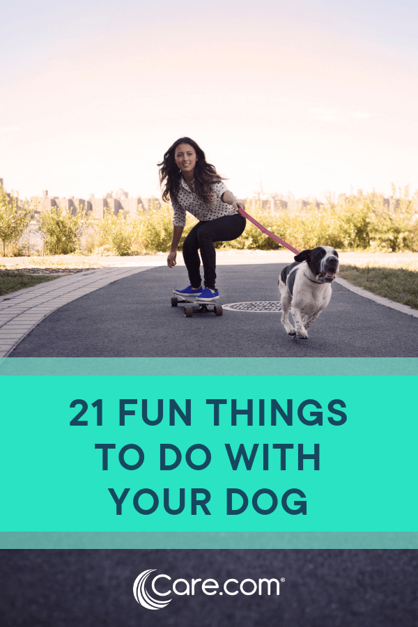 21 fun things to do with your dog Your dog, Dog