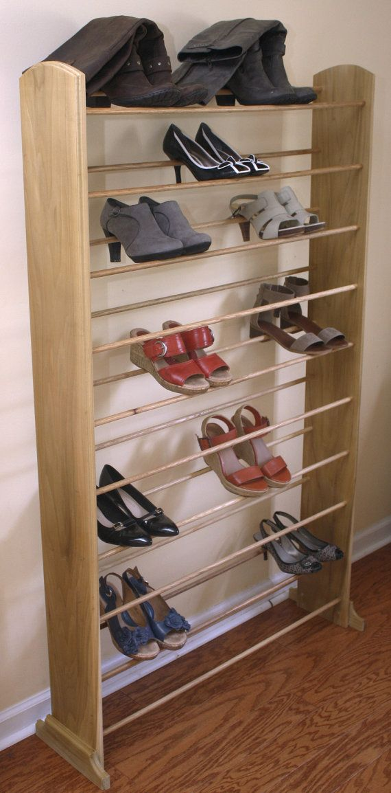 The Ultimate Shoe Rack That Holds Up To 50 Pairs Of Shoes. Get All Those  Shoes Off The Ground And Organized On This Rack. Fits Nicely In A Walk In  Closet ...
