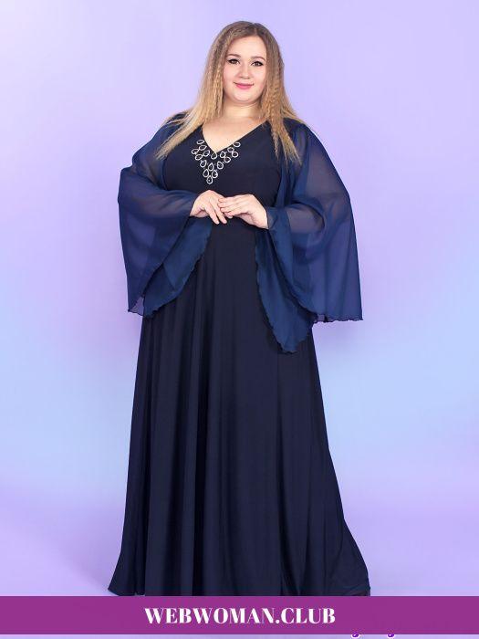 7af180e9c6d Вечернее платье Магдалена Magesty Вечерние и выходные платья для полных  женщин