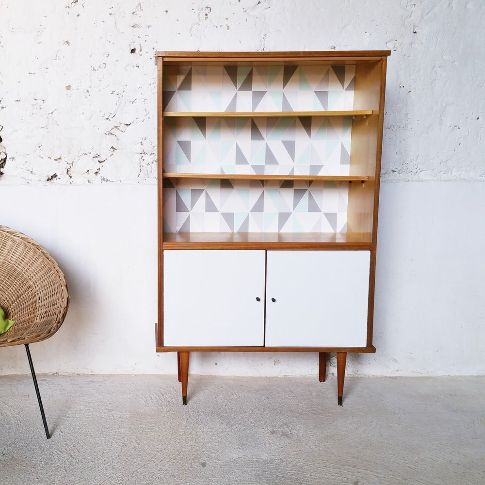 Meuble De Rangement Biblioth Que Vintage Fibresendeco Com  # Idee Meuble Hifi Et Bibliotheque