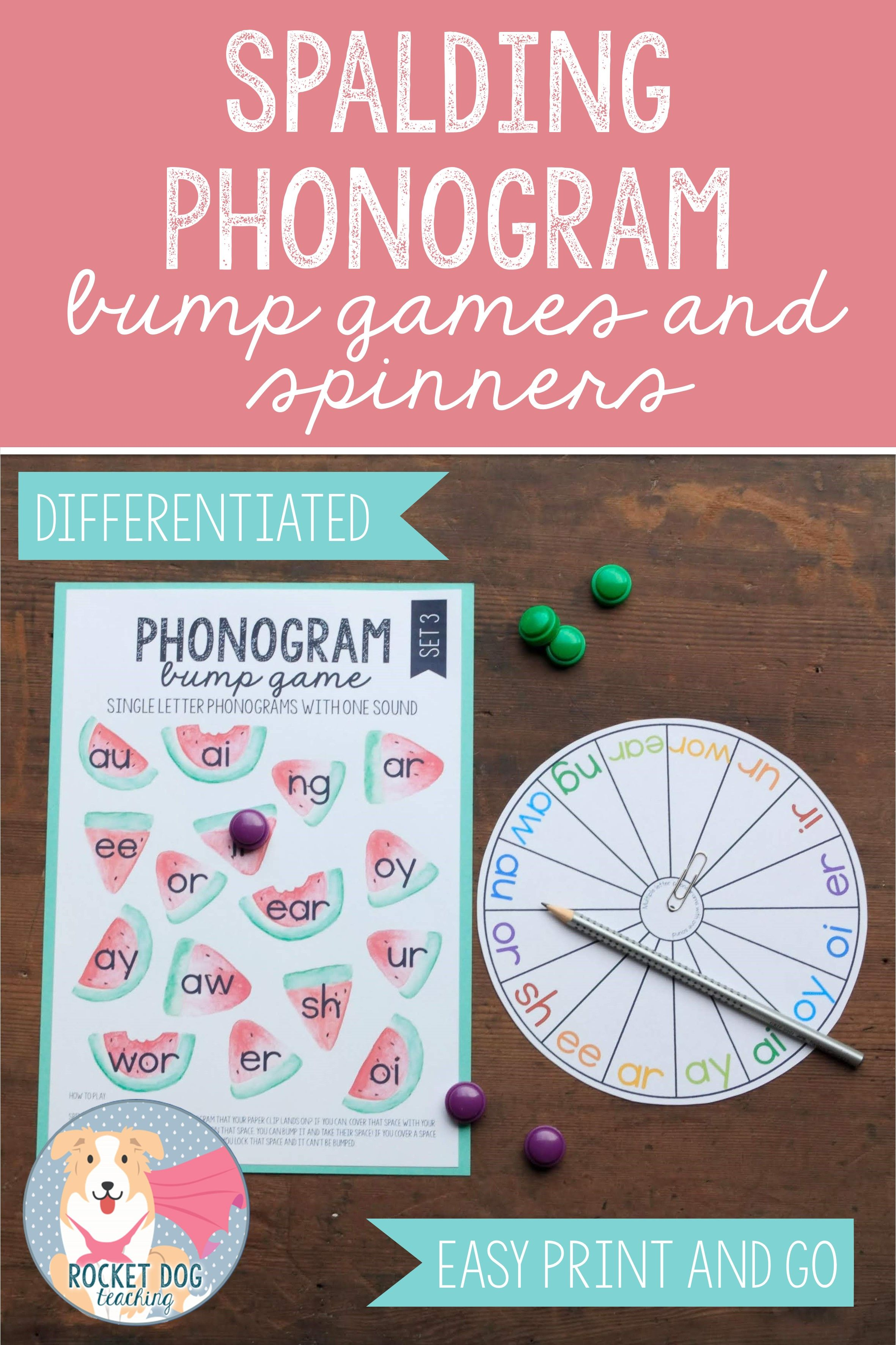 Phonogram Bump Games And Spinners