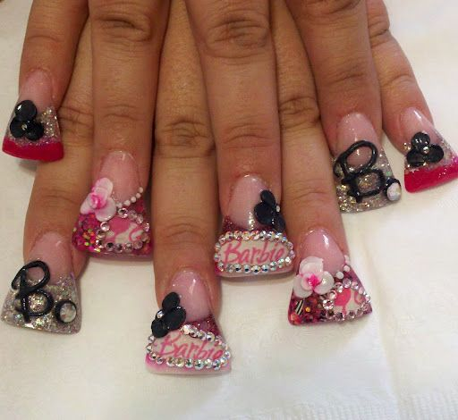 Is This The Worst Nail Trend Ever Duck Nails Feet Nails Bad Nails