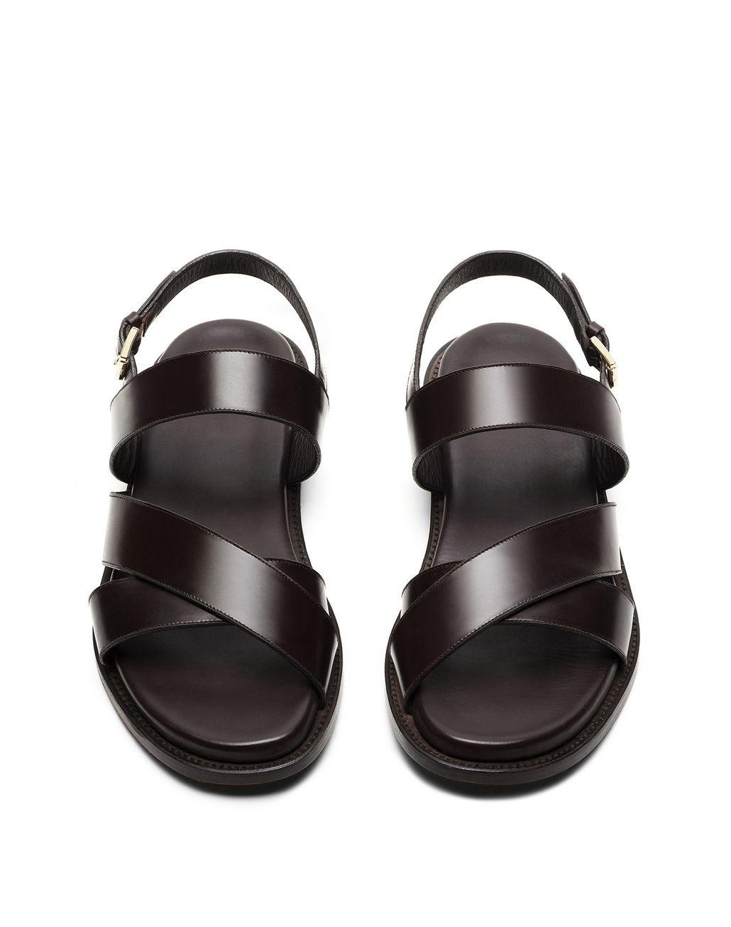 Brioni Leather Platform Sandals discount official cheap sale factory outlet cheap purchase marketable online J9FMJ