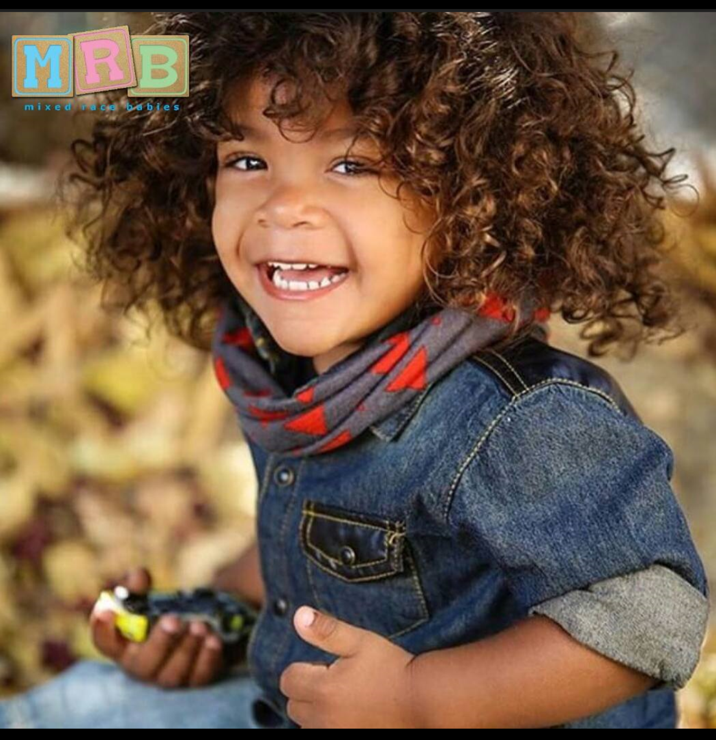 Korean Caucasian and African American 2 years old