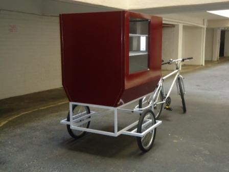 Pictures of Bicycle Food Cart FOR SALE | Cargo , Utility , & Urban