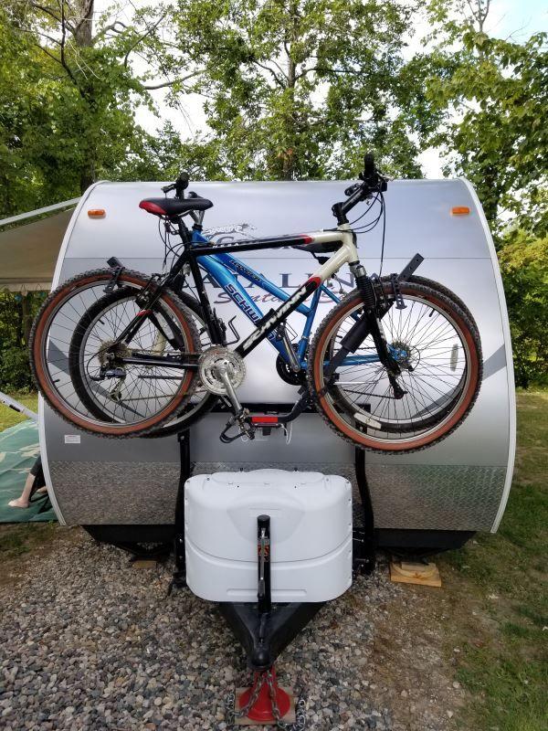 Stromberg Carlson Bike Bunk Trailer Mounted Bike Rack Carrier For