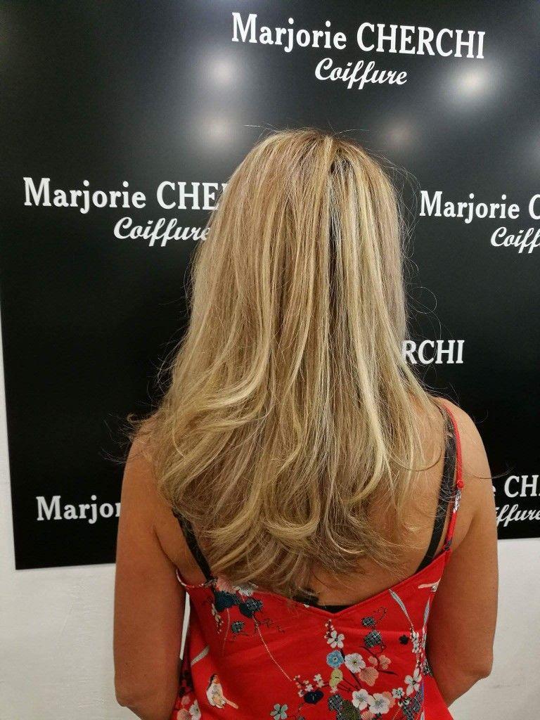 Soin cheveux secs kerastase Coiffage glamour  www.marjorie-coiffure.fr