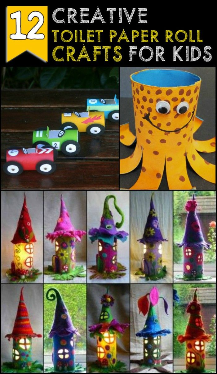 15 Fun Easy Toilet Paper Roll Crafts For Kids Craft Ideas