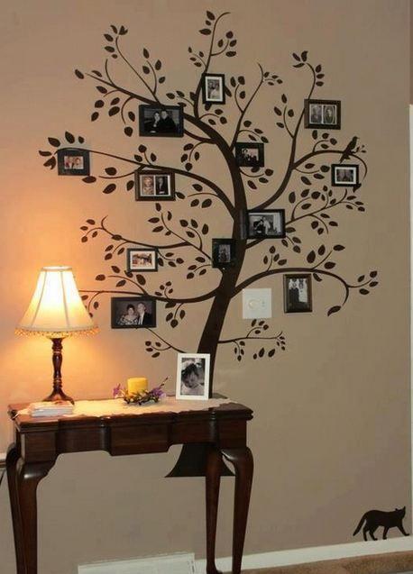 como decorar tu cuarto DIY? | Decorating Ideas | Family tree wall ...