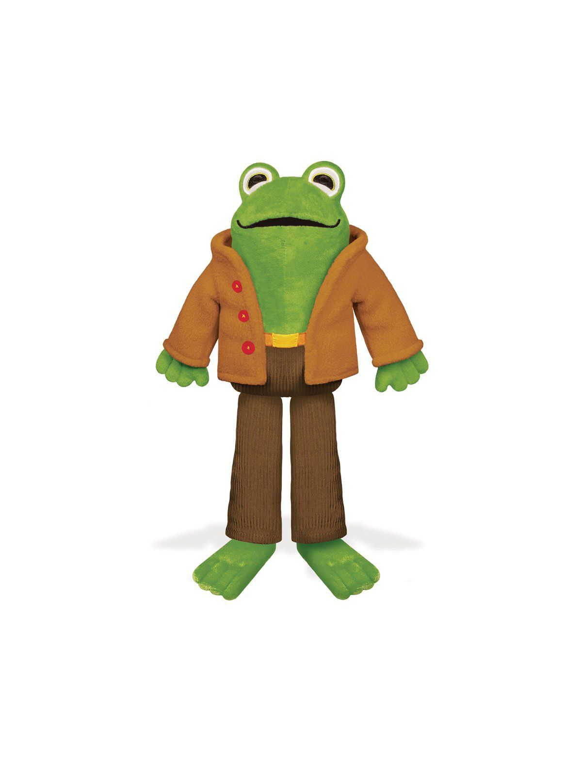 Frog From Frog And Toad Soft Toy In 2021 Frog Stuffed Animal Frog Plush Frog And Toad