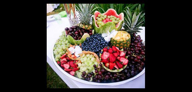 Table Decoration Ideas: Table Decorations, Table Decorating, Fruit,  Display, Fruit Display