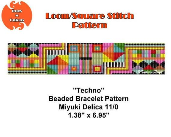 Loom Beaded Bracelet Pattern