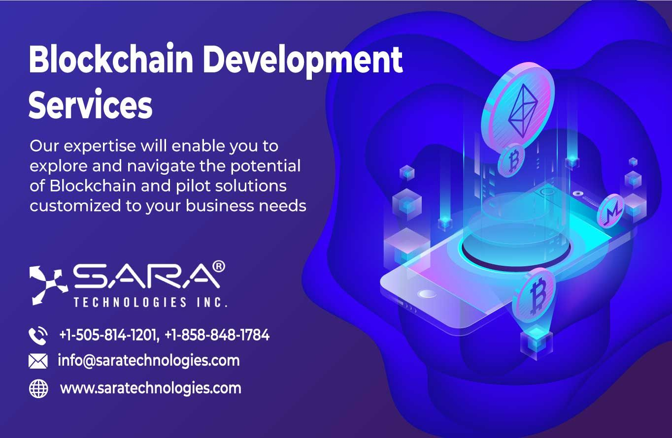 Hire The Professional Blockchain Developers From Sara Technologies That Have The Vast Expertise In Understanding A Broad Arra Blockchain Development Technology