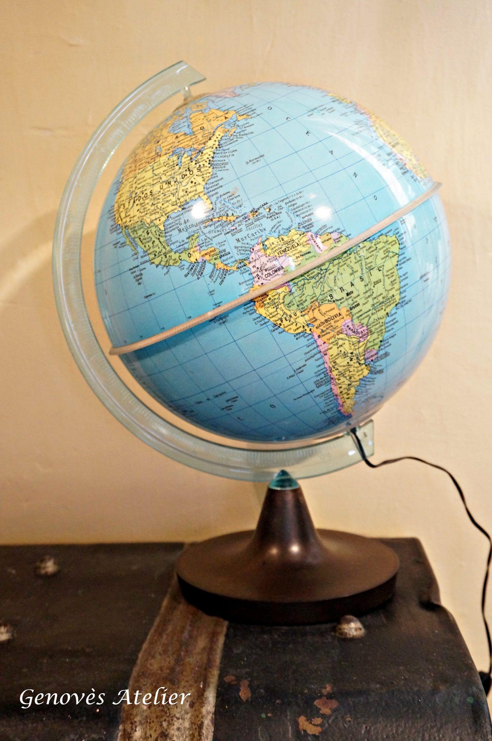 bola del mundo dalmau carles pla con luz genoves atelier globes pinterest luces globo y el mundo