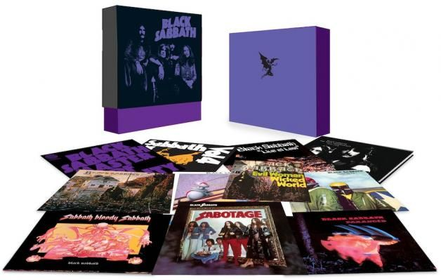 Black Sabbath Unveil New Box Set Heavy Metal Sabotage Metal